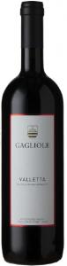 Een fles rode wijn uit Toscane - Valletta 2017 van Gagliole - Toscana IGT